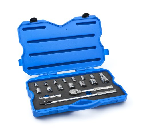 Price comparison product image Armstrong 15-525 1 / 2-Inch Drive 12 Point Inch-SAE Socket Set