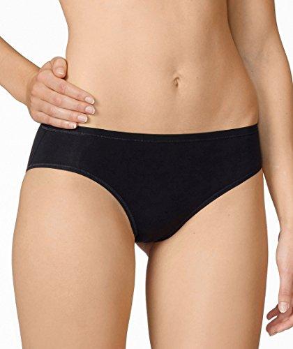 Calida Comfort Low Cut Brief Panty (21027) M/Black (Calida Spandex Briefs)