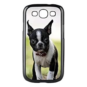 BOSTON TERRIER DOG PUPPY PHOTO PICTURE Cover Case Skin For Samsung S3 9300