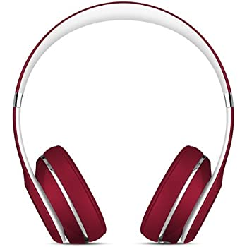 Beats Solo2 Wired On-Ear Headphone, Luxe Edition - Red