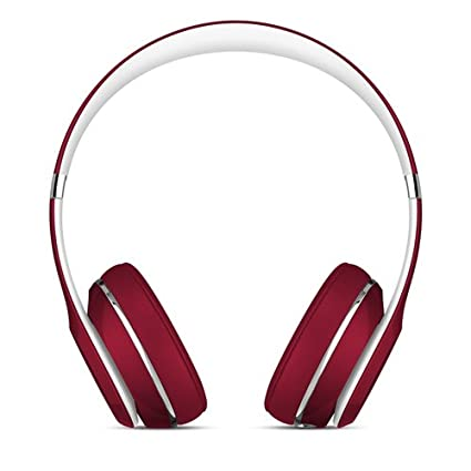6f7fa38614fb Image Unavailable. Image not available for. Color: Beats Solo2 Wired On-Ear  Headphone, Luxe Edition - Red