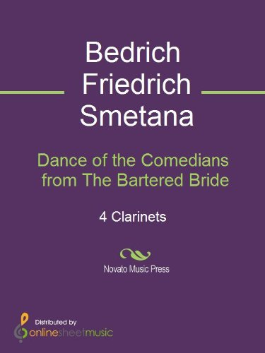Dance of the Comedians from The Bartered Bride - Score (The Bartered Bride Dance Of The Comedians)