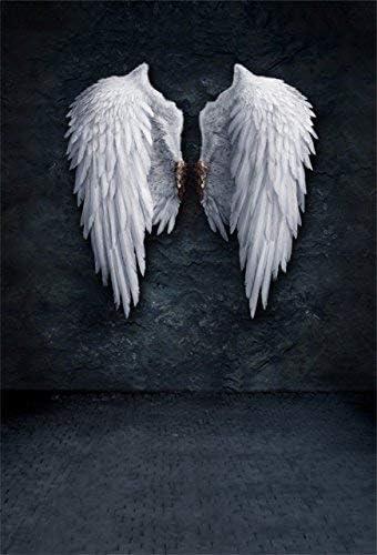 Aofoto 5 X 2 1 Engel Flügel Hintergrund Grunge Wand Kamera