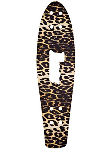 Penny Die Cut Nickel Skateboard Grip Tape, Leopard, 27'' by Penny