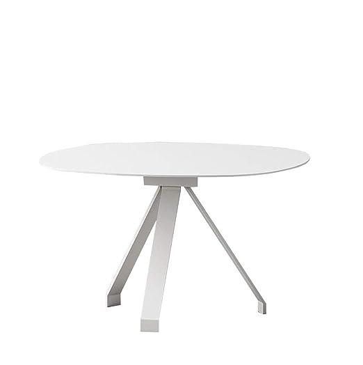 MYJ Furniture Mesa de Centro Creativa Mesa Lateral nórdica Mini ...
