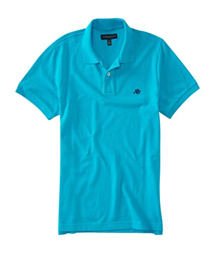 aeropostale-mens-a87-solid-logo-piqu-polo-shirt-l-earthly