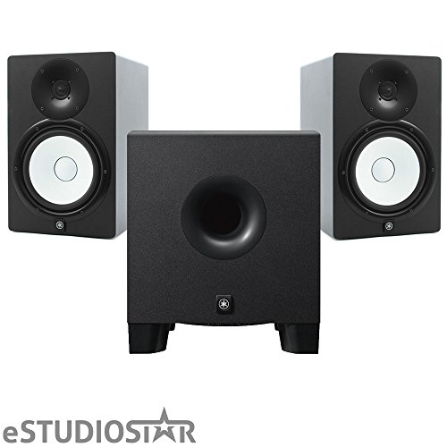 Yamaha HS8 Studio Monitors pair w/ HS8S Subwoofer