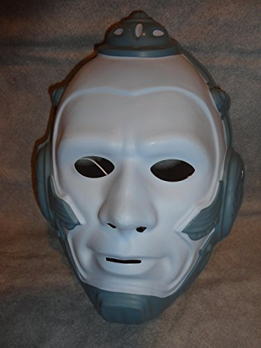 Mr Freeze For Costume Adults (Mr. Freeze DC Comics Version PVC Mask Kid Size Rubies Halloween Dress)