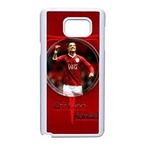 Cristiano Ronaldo For Samsung Galaxy Note 5 Cell Phone Case White BTRY26082