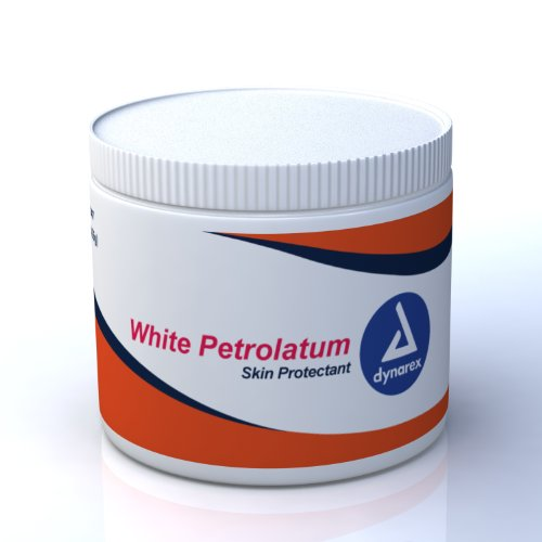 Dynarex White Petrolatum 15 oz jar 12/Cs ()