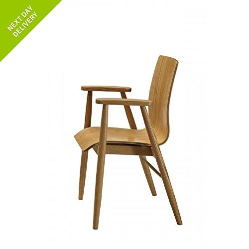 London Curve Möbel Eiche Arm stuhl pc707 online kaufen