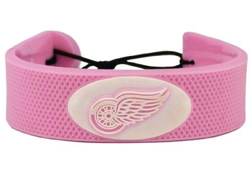NHL Detroit Red Wings Pink Hockey - Bracelet Hockey Pink Nhl