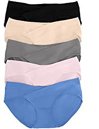 Under The Bump Maternity Underwear/Pregnancy Panties - Bikini 5 Pack