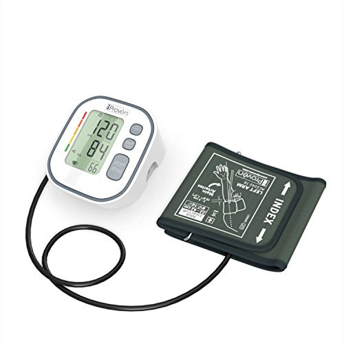 Digital Automatic Blood Pressure Monitor - Upper Arm Cuff - Large Screen - Accurate & Fast Reading Electronic Machine - Top Rated BP Monitors and Cuffs - FDA Approved - iProvèn BPM-634 - for Home Use by iProvèn (Image #6)