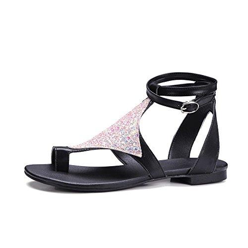 AdeeSu Womens Studded Fashion Travel Urethane Sandals SLC03986 Pink NVRcEZZsp8