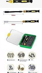 Farook-51 in 1 Steel Multi Tool Set Hand Tools Repair Tool Kit Precision Screwdriver Set Tool Box for Cell Phones Laptop for Russia