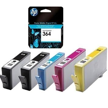 5 x Original cabezal de impresión de tinta para HP Photosmart 5520 ...