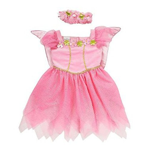 Koala Kids Toddler Girls Pink Fairy Princess Costume with Butterfly Wings 3T -