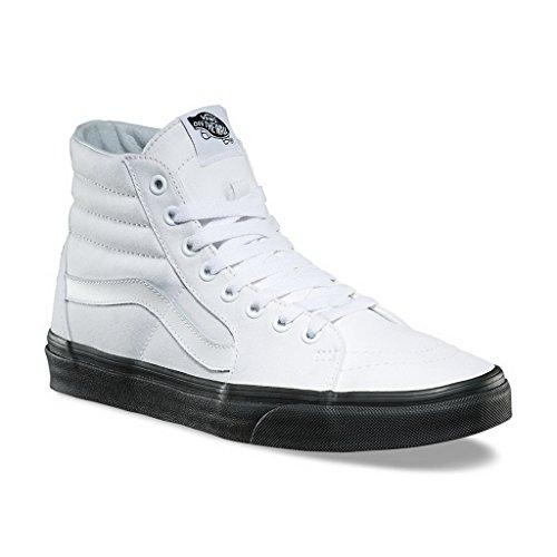 Vans SK8-HI (BLACK OUTSOLE) mens skateboarding-shoes VN-A38GEOB4_12 - True (Vans Mens Skateboarding Shoes)