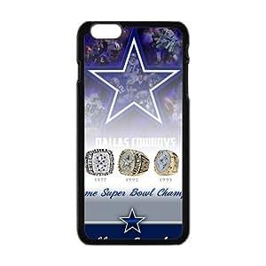 SKULL Dallar Cowboy Pattern Fashion Comstom Plastic case cover For Iphone 6 Plus Kimberly Kurzendoerfer