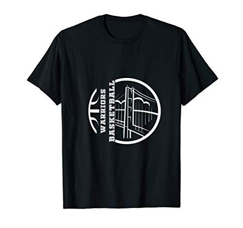 Golden State Distressed Basketball Team Fan warrior T-Shirt]()