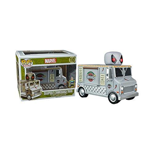 Deadpools Chimichanga Truck 10 (Summer Convention Exclusive) ~ Funko Pop Rides