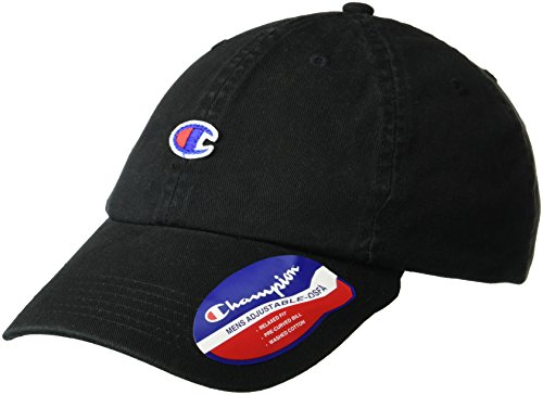 Champion Men's Father Dad Adjustable Cap, black, OS ()