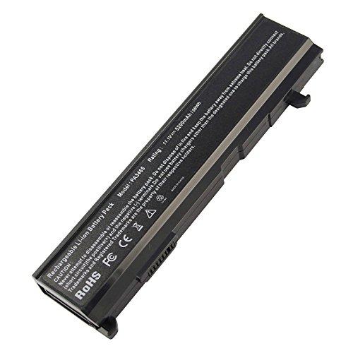 ARyee 5200mAh 11.1V PA3465U-1BRS Battery Laptop Battery Replacement Toshiba PA3465U-1BRS PABAS069 PABAS067 Satellite A100-ST8211 A100-756 A100-551 A100-521 A105-S4XXX A110-S3094 A110-228 - Pa3465u 1brs Toshiba Battery