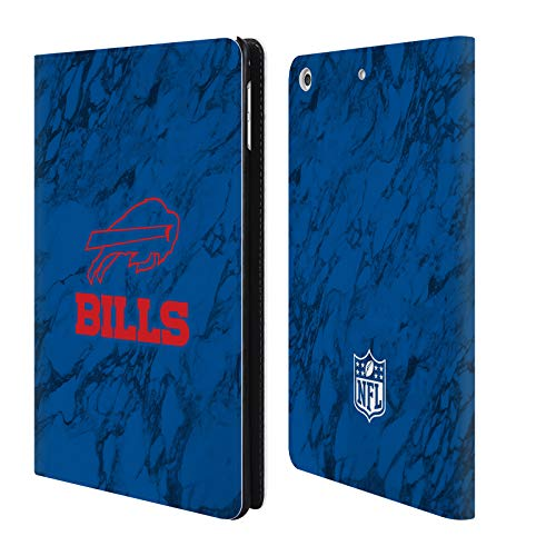 Bills Card Credit Buffalo (Official NFL Coloured Marble 2018/19 Buffalo Bills Leather Book Wallet Case Cover for iPad Mini 4)
