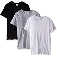 Lacoste Men's Essentials Cotton Crew-Neck T-Shirt (Pack of 3)