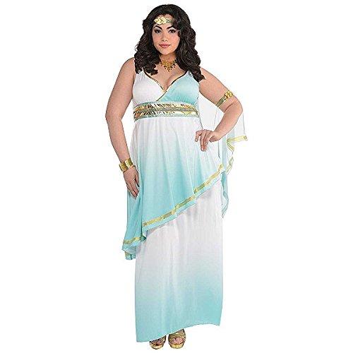 Grecian Costumes Jewelry (Grecian Goddess Adult Costume - X-Large)
