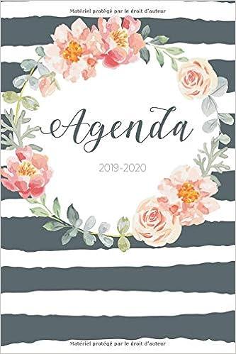 Agenda 2019-2020: Agenda Journalier - Agenda de Poche 2019 ...