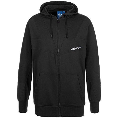 Adidas MODERN ZIP Mens Hoodie AJ7610, Black, XL -