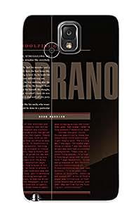 Pretty EWkNaHz2593vMyGc Galaxy Note 3 Case Cover/ Interview Gandolfini Tony The Sopranos Series High Quality Case