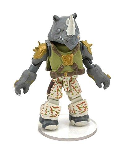 """Teenage Mutant Ninja Turtles Nickelodeon Minimates 2"""" Figure Series 3 Rocksteady Mini Figure (Opened to Identify)"""