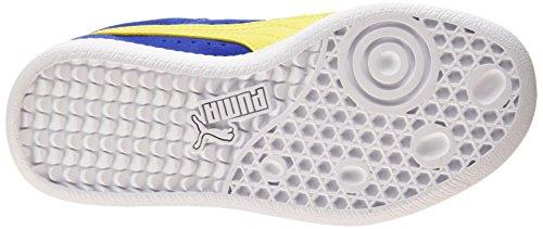 Puma Icra Trainer SD V Unisex-Kinder Sneakers Blau (surf the web-blazing yellow 05)