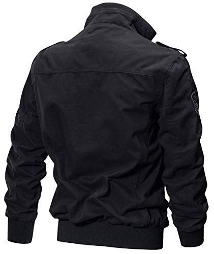 SG Sweat Hombres Hombres Chic Sport Jacket Martinad Algodón Size Pocket Multi Schwarz Piloto Otoño Moda Hombres Bomber Color 6 Chaqueta Hombres Classic Ntel Chaquetas qTqzgp