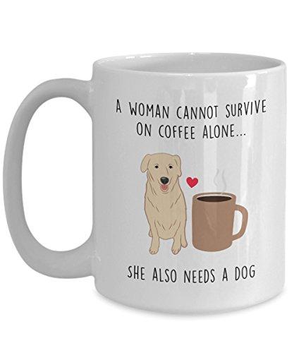ve On Coffee Alone Mug - Dog Lover Gift - Funny Tea Hot Cocoa Cup - Novelty Birthday Christmas Anniversary Gag Gifts Idea (Hot Dog Chocolates)