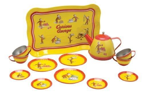 Curious George Tin Tea Set - 5