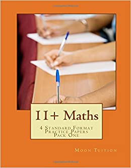 11+ Maths: 4 Standard Format Practice Papers Pack One