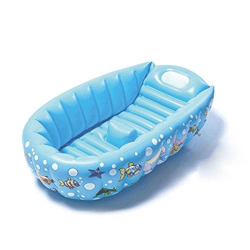 Cyhione Bañera Inflable Piscina Portátil Tina de plástico para ...