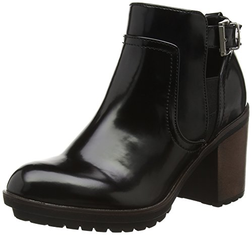 Rocket Dog Reese, Botines para Mujer Negro - Black (Boxed In Black)