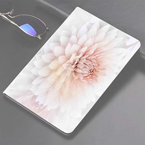 d Air 1/2 CaseDahlia Flower Decor,Blossom with Distinct Macro Petals Vine Herbs Seeds Natural Wonder Image,P 360 Degree Swivel Mount Cover for Automatic Sleep Wake up ipad case ()