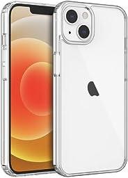 Shamo's Compatible con iPhone 13, fundas transparentes a prueba de golpes con parachoques de silicona TPU