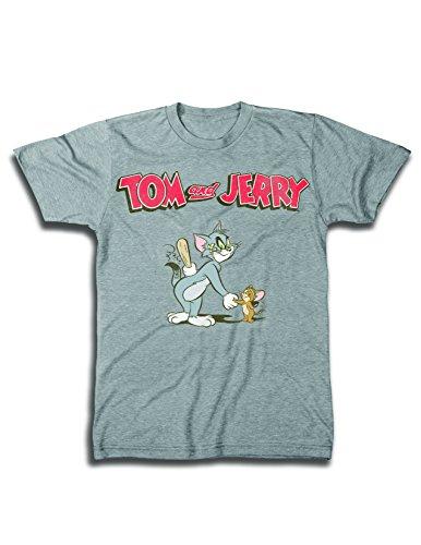 Mens Tom & Jerry Battle Shirt - Classic