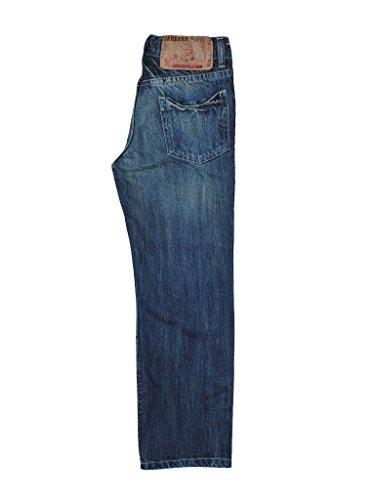 Carrera Jeans Pantalón Jeans Bambino 13,5 Oz 100 - Oscuro Azul Lavado