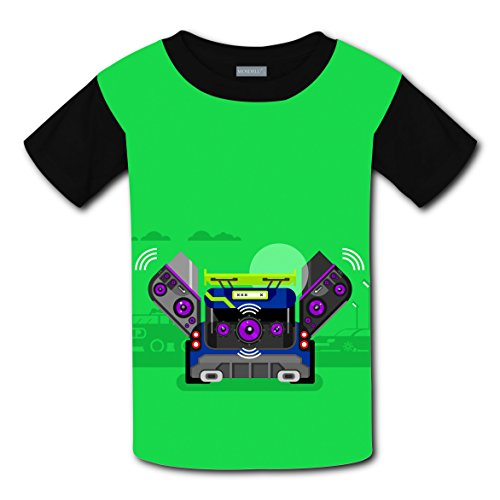 Mmm fight Music Box Light Weight Tee Shirts 2017 The Latest Version For kidsfree (Top Halloween Music 2017)