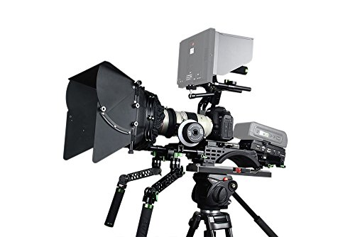 Lanparte PK-02B-C Professional DSLR Camera Kit V2B without Monitor and Battery (Black)