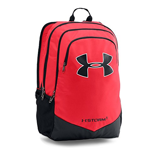 Under Armour Boys' Storm Scrimmage Backpack, Red/Black, One Size