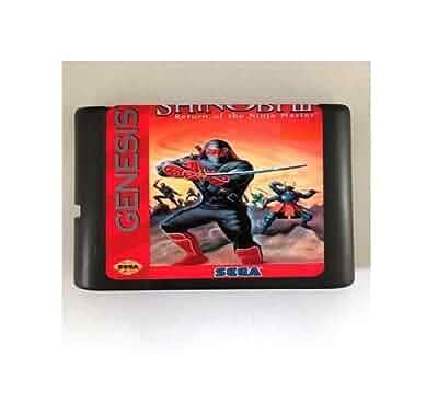 Amazon.com: Taka Co 16 Bit Sega MD Game Shinobi III Return ...